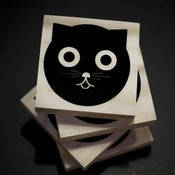 Image of Watson the Cat | Wood Coasters