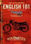 Image of ENGLISH 101, Triumph BSA Tune and Service DVD
