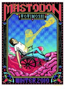 Image of Mastodon/Totimoshi European Tour Poster 2010