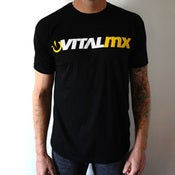Image of Vital MX Logo T-shirt, Black