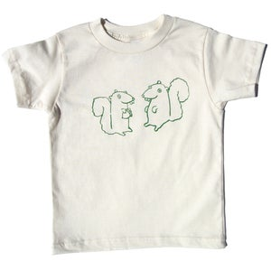 Image of SALE Organic Squirrels Tee