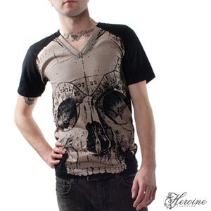 Image of Death V-Neck Black Unisex