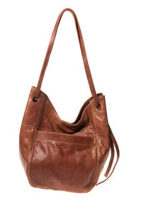 Image of MEDIUM LEATHER TOTE