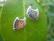 Image of hooty owl earrings and matching pendant