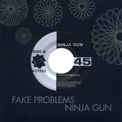 "Image of Fake Problems / Ninja Gun - Split 7"" single"