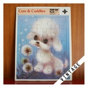 Image of VINTAGE CUTE & CUDDLIES PUZZLE