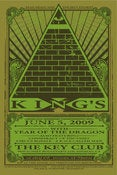Image of YOTD GIG POSTER JUNE 5, 2009 