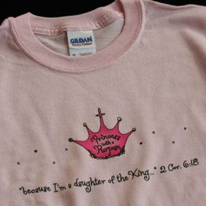 Princess Shirt (Pink)