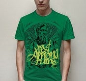 Image of Green 'Zeus' T-shirt