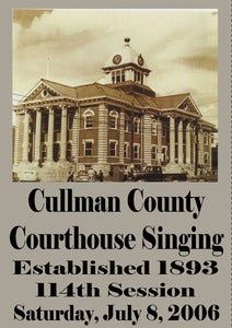 Image of Cullman County Courthouse Singing 114th Session Saturday, July 8, 2006 - DVD
