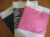 Image of Me Sew Messy 3 Burp Cloth Sets