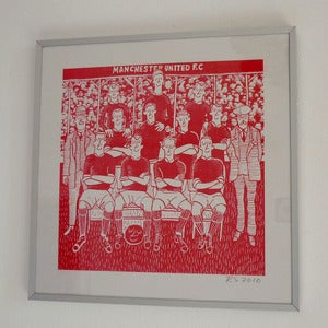 Image of Man U by Robert Shadbolt print