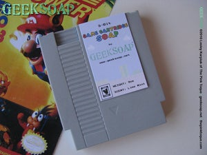 Image of 8-Bit Game Cartridge GEEKSOAP