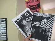 Image of Make-A-Mess fanzines no. 1 + no. 2 [Sold Out]