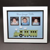 Image of Keepsake Frame :: Choo Choo