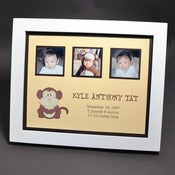 Image of Keepsake Frame :: Monkey