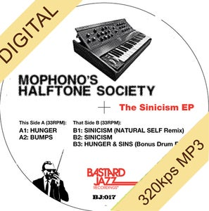 Image of Mophono's Halftone Society - The Sinicism EP - (DIGITAL)