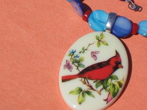 Image of Cardinal Rule Necklace