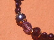 Image of Purple Pearl Passion Bracelet
