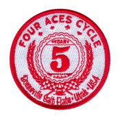 Image of 5 Year Bonneville Salt Flats Commemorative PATCH