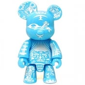 Image of 2.5&quot; Qee Paper Cut Bear - Blue 