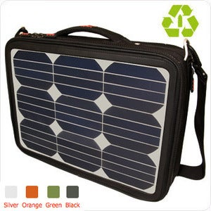 Modern Local — Voltaic Generator Solar Laptop Bag :  usb green summer electronic