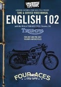 Image of English 102 DVD workshop Manual