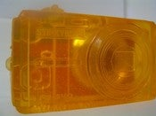 Image of Orange Digital Camera