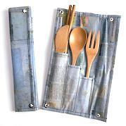 Modern Local  To-Go Ware CONSERVE Utensil Set :  travel wear kitchen burning