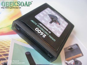 Image of Retro 2600 Game Cartridge GEEKSOAP
