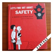 Image of LET'S FIND OUT ABOUT SAFETY Vintage Book