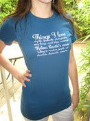 "Image of ""Things I Love"" Tee"