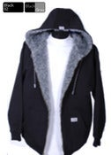 Image of ZIPPER HOOD FLEECE PILE JACKET SM TO 2X (3 per. pack)