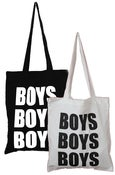Image of BOYS BOYS BOYS<br>LOGO TOTE BAG
