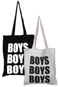 Image of BOYS BOYS BOYS&lt;br&gt;LOGO TOTE BAG