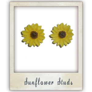 Image of Sunflower Studs