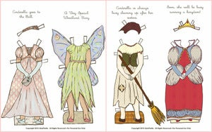 Image of Print It Yourself  Fairy Tale Line Paper Doll Outfits