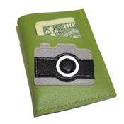 Image of Camera ) Mini Card Wallet