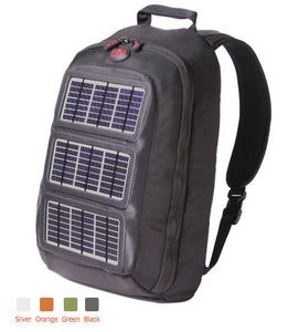 Modern Local  Voltaic Converter Solar Day Pack :  travel light summer playa