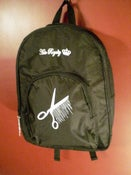 Image of &quot;Serious Cut&quot; &quot;Bleeding Shears&quot; Back Pack