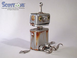 Image of Rusty the Boy Robot