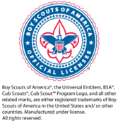 Image of Official Boy Scout Licensed Products from Joycrest & The Patch Place