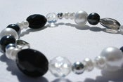 Image of Tiara Pearls - Black