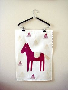 Image of Heppa Linen Tea/Kitchen Towel by Hanna Konola