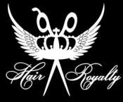 Image of Hair Royalty Logo STICKERS (2 sizes)