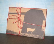 Image of Barns - Set of 3 note cards