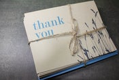 Image of Thank You w/Wheat Set of 8 note cards