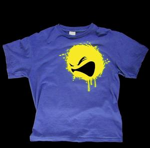 Image of Bassface- RYCA PRINT T-SHIRT - ROYAL BLUE