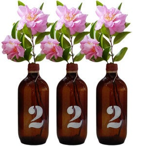 Image of Medium numbered Bottles/Vase