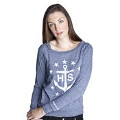 Image of Slouchy Anchor Pullover